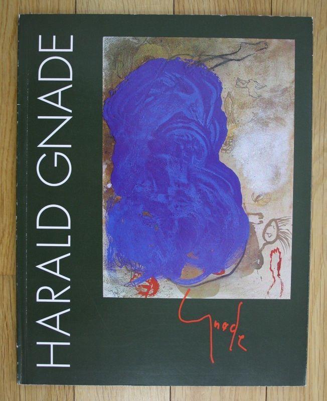 1993 Harald Gnade Vision und Visualisierung Arbeiten 1990-93 Katalog Ausstellung