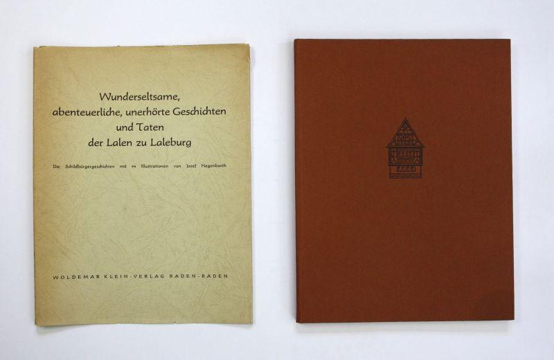 Joseph Hegenbarth Wunderseltsame Geschichten der Lalen zu Laleburg 1956
