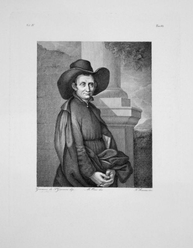 Giovanni da San Giovanni - Le Cure Arlotto - Radierung engraving gravure