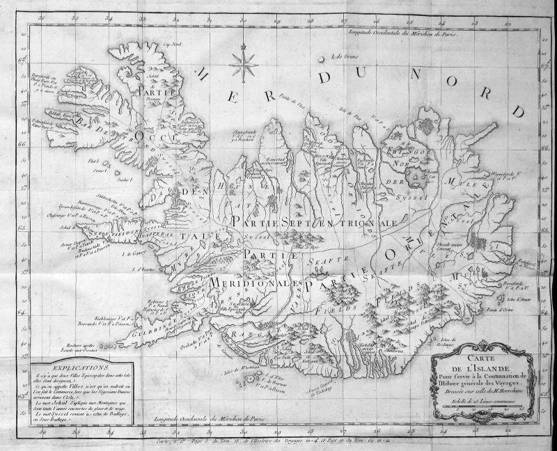 Java Jawa Indonesia Indonesien Karte map plan Kupferstich antique print Bellin