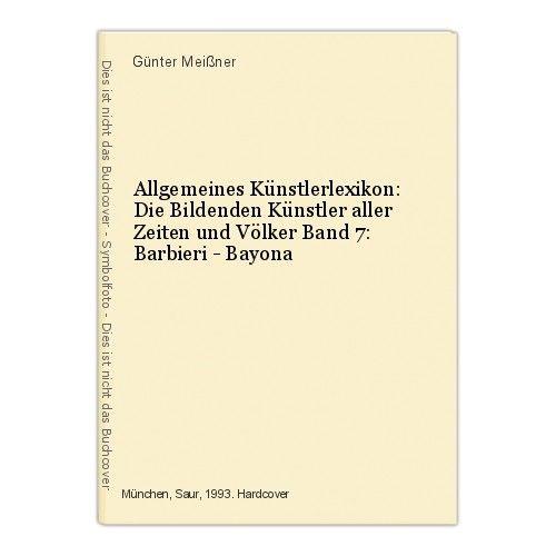 Allgemeines Künstlerlexikon: Die Bildenden Künstler aller Zeiten und Völke 47324