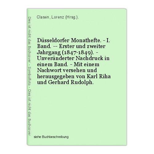 Düsseldorfer Monathefte. - I. Band. -- Erster und zweiter Jahrgang (1847-1849).