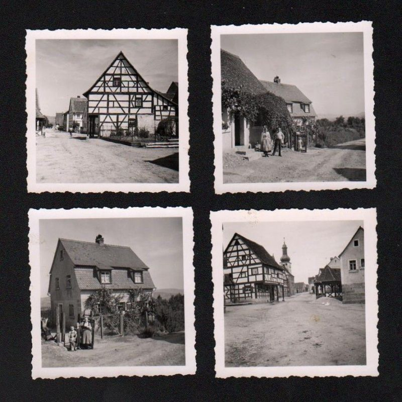 1940 Pinzberg LK Forchheim 4 x Original Foto Fotos Chronik photo
