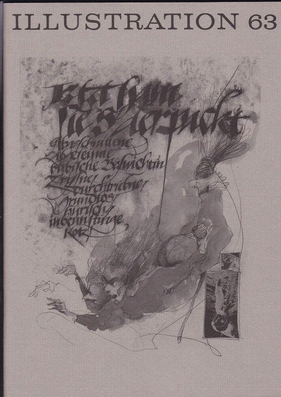 Curt Visel Illustration 63 - Zeitschrift für die Buchillustration - Heft 3 1995