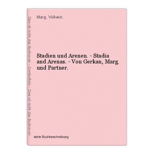 Stadien und Arenen. - Stadia and Arenas. - Von Gerkan, Marg und Partner. Marg, V 0