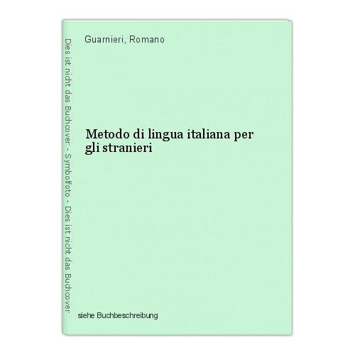 Metodo di lingua italiana per gli stranieri Guarnieri, Romano 0