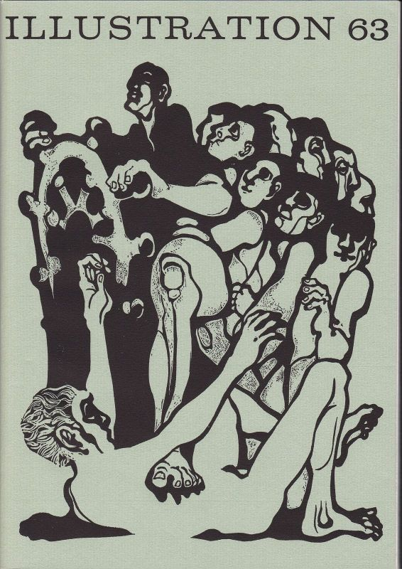 Curt Visel Illustration 63 - Zeitschrift für die Buchillustration - Heft 3 1974