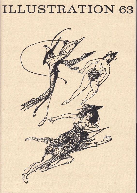 Curt Visel Illustration 63 - Zeitschrift für die Buchillustration - Heft 1 1981