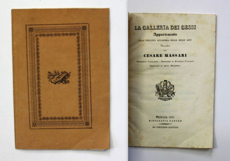 Massari Galleria Gessi Perugina Accad. Belle Arti 1833 Perugia Katalog catalogue 0