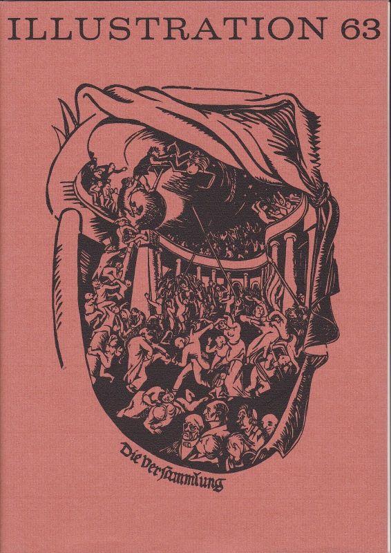 Curt Visel Illustration 63 - Zeitschrift für die Buchillustration - Heft 3 1987