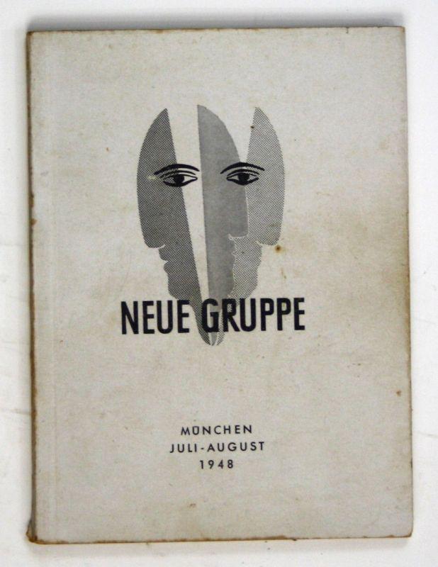 1948 Neue Gruppe II. Ausstellung Juli August 1948 Ausstellung Katalog München