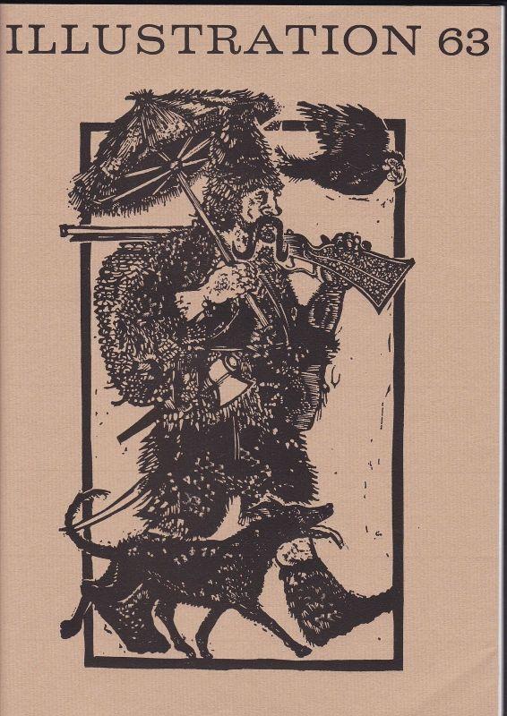 Curt Visel Illustration 63 - Zeitschrift für die Buchillustration - Heft 3 1976