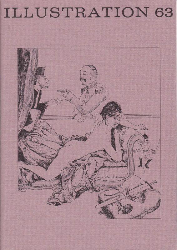 Curt Visel Illustration 63 - Zeitschrift für die Buchillustration - Heft 3 1989 0