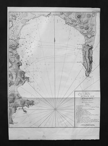 1810 - Gibraltar Algeciras Battle 1801 map 0