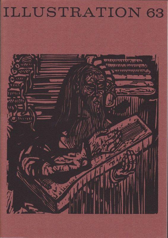 Curt Visel Illustration 63 - Zeitschrift für die Buchillustration - Heft 3 1973