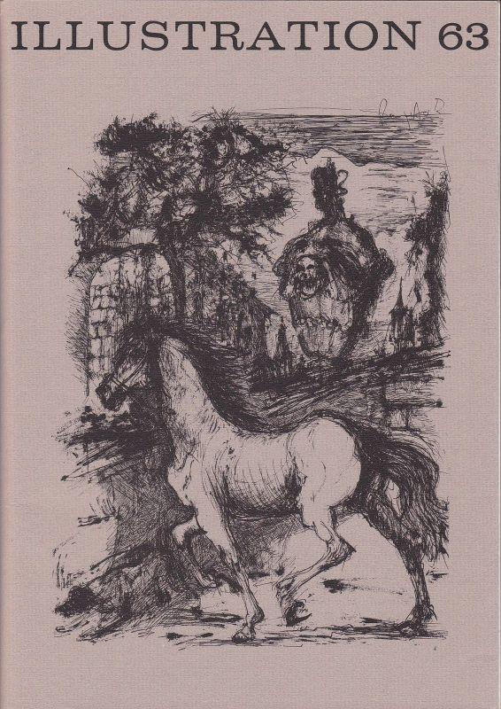 Curt Visel Illustration 63 - Zeitschrift für die Buchillustration - Heft 1 1986