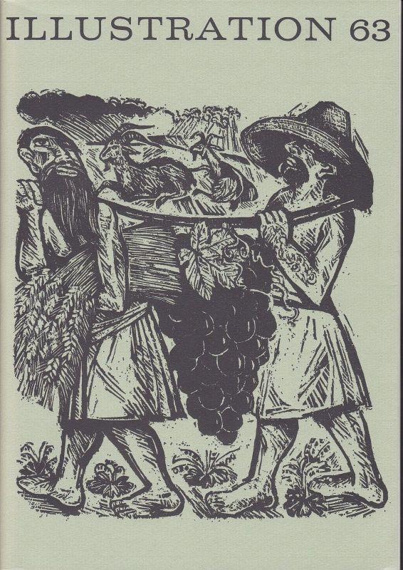 Curt Visel Illustration 63 - Zeitschrift für die Buchillustration - Heft 2 1969 0