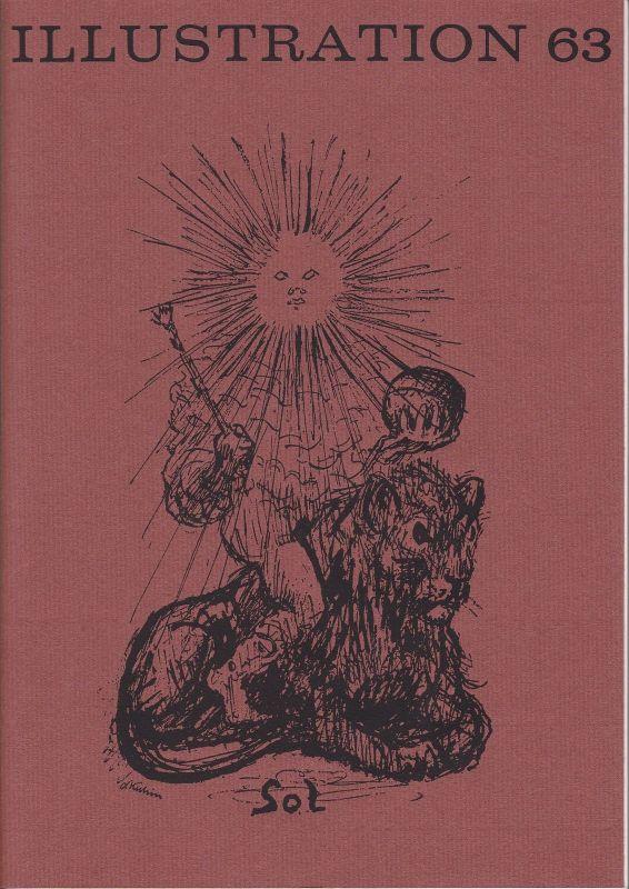 Curt Visel Illustration 63 - Zeitschrift für die Buchillustration - Heft 2 1982