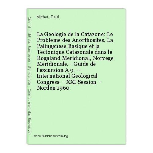 La Geologie de la Catazone: Le Probleme des Anorthosites, La Palingenese Basique 0