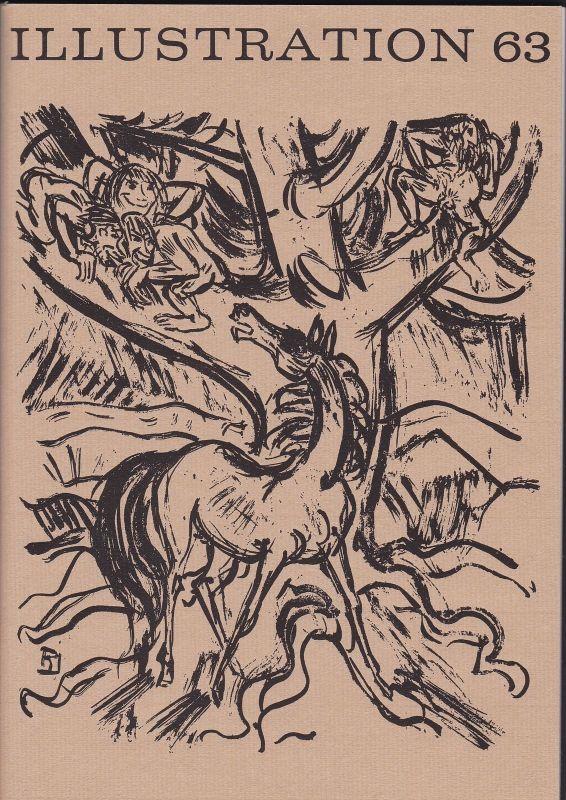 Curt Visel Illustration 63 - Zeitschrift für die Buchillustration - Heft 1 1976