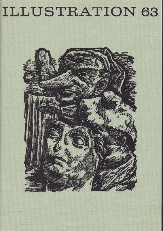Curt Visel Illustration 63 - Zeitschrift für die Buchillustration - Heft 1 1983