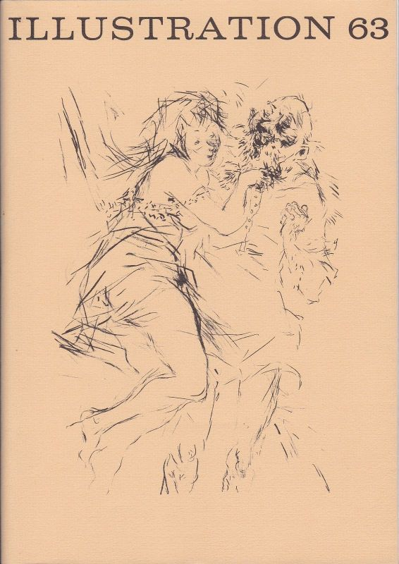 Curt Visel Illustration 63 - Zeitschrift für die Buchillustration - Heft 3 1968