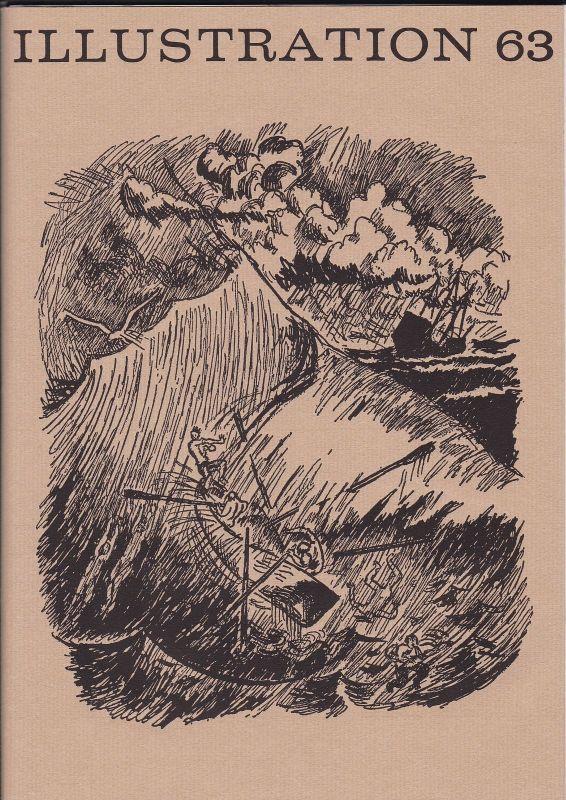Curt Visel Illustration 63 - Zeitschrift für die Buchillustration - Heft 2 1976