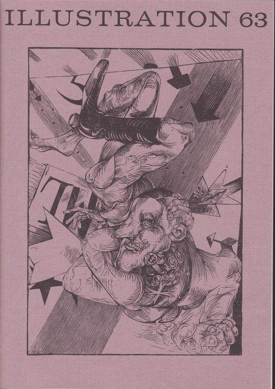 Curt Visel Illustration 63 - Zeitschrift für die Buchillustration - Heft 2 1989