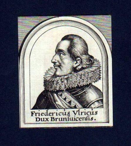 1680 Friedr. Ulrich Braunschweig-Wolfenbüttel Portrait