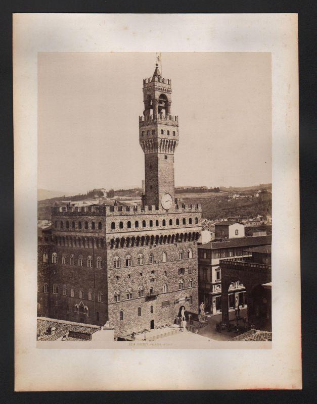 Firenze Palazzo Vecchio Sitz Gemeinde Florenz Italien Italia antique Foto Photo