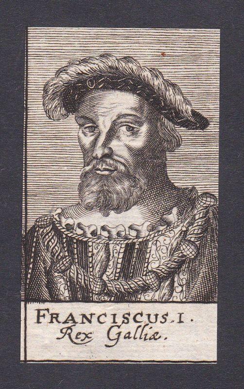 17. Jh. Franciscus Hotomanus / theologian Theologe Gallien Portrait Kupferstich