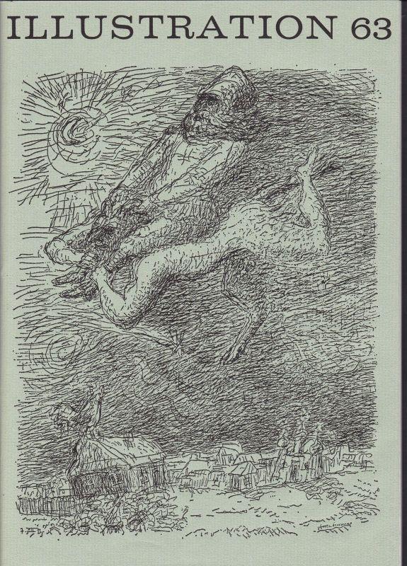 Curt Visel Illustration 63 - Zeitschrift für die Buchillustration - Heft 1 1974