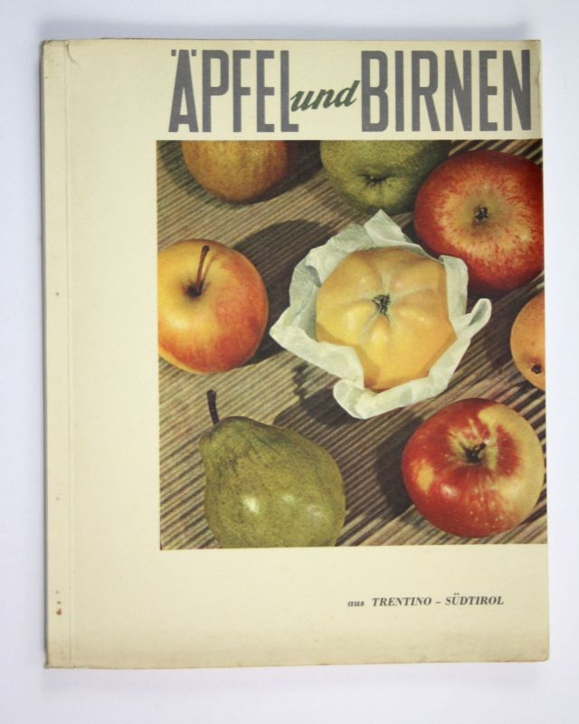 1951 Äpfel und Birnen aus Trentino Südtirol Apfel Birne apple pear