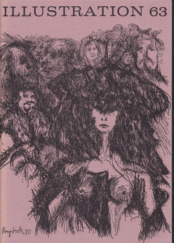 Curt Visel Illustration 63 - Zeitschrift für die Buchillustration - Heft 3 1970