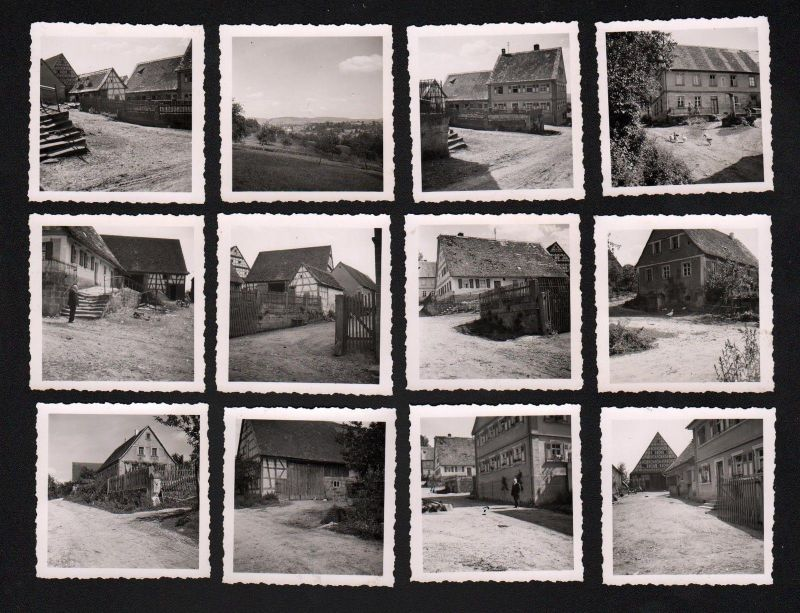 1940 Elsenberg Pinzberg LK Forchheim 12 x Original Foto Fotos Chronik photo