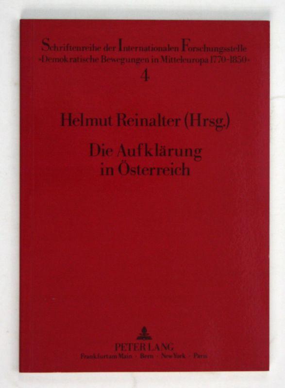 1991 Reinalter Aufklärung Österreich Schriftenreihe internationalen Freimaurer