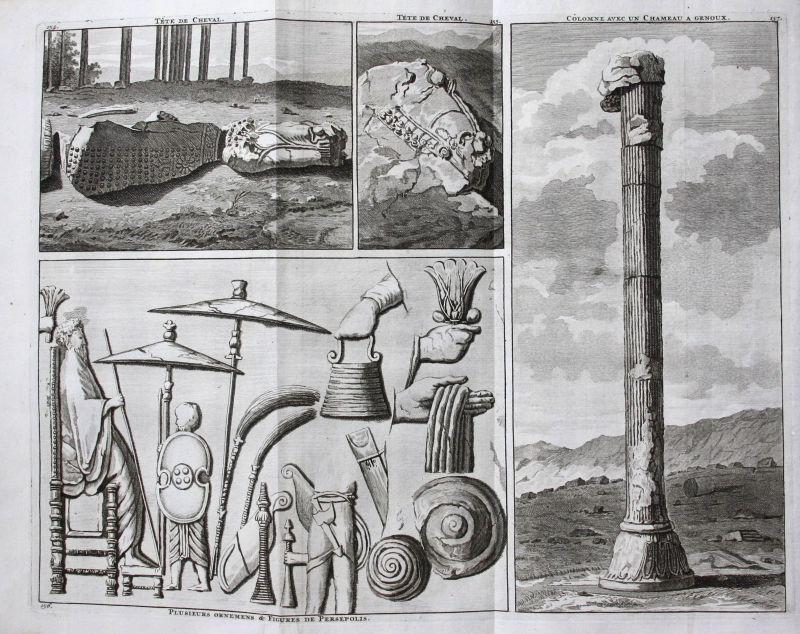 De Bruijn Ornaments ornamentes architecture Persepolis Iran antiquity 1718
