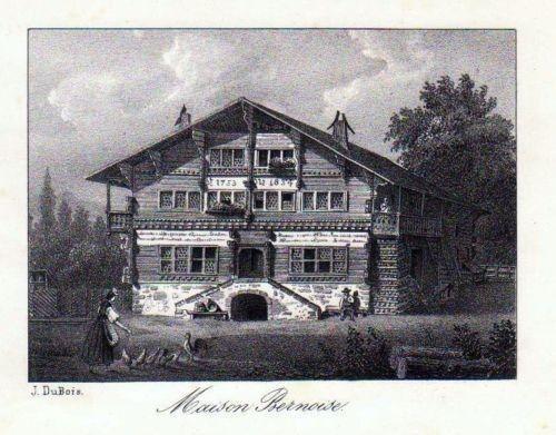 1840 - Bern Berne Schweiz Suisse Lithographie