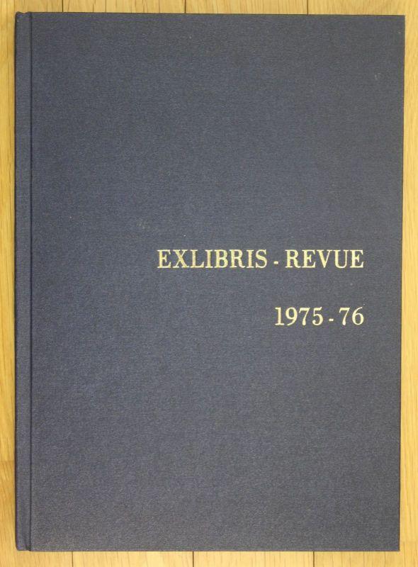 Exlibris Revue 1975-76 F. I. S. A. E. 2 Jahrgänge in 1 Band