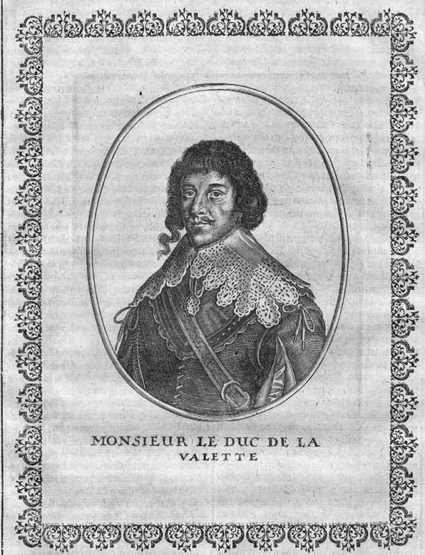 1650 - Henry de Nogaret de la Valette Portrait Kupferstich