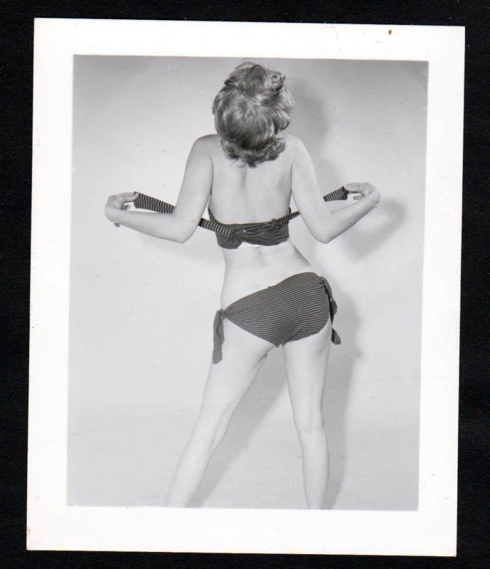 1960 Unterwäsche lingerie Erotik Bikini vintage Dessous pin up Foto photo