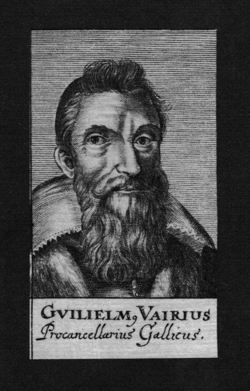 1680 - Guilelmus Wilhelm Vairius Jurist lawyer engraving Kupferstich Portrait