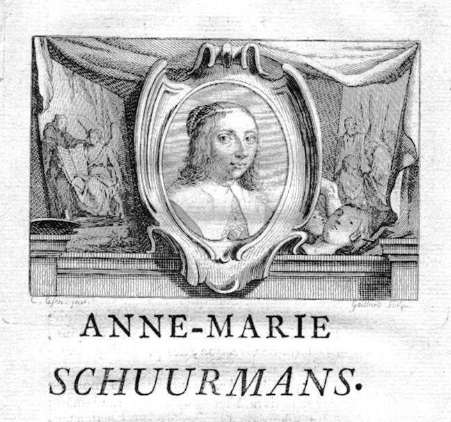 1750 - Anna Maria von Schürmann painter Portrait Kupferstich gravure engraving