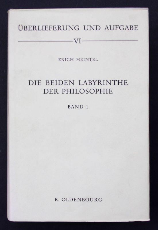 Die beiden Labyrinthe der Philosophie. Systemtheoretische Betrachtungen zur Fund