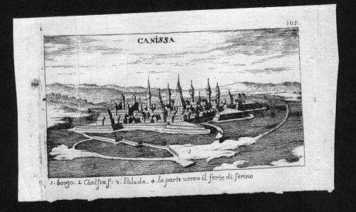 1680 - Nagykanizsa Ungarn Hungary Kupferstich