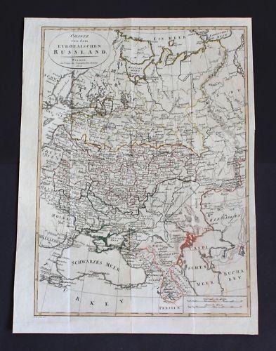 1807 - Russia Russland map Karte