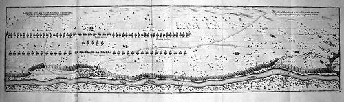 1648 - Landsberg Lech Oberbayern Kupferstich Merian