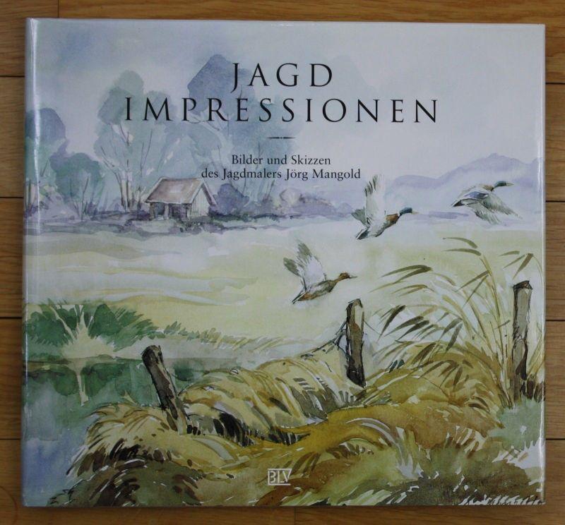 1994 Jagd Impressionen Bilder Skizzen Jagdmaler Jörg Mangold Jägerei Malerei