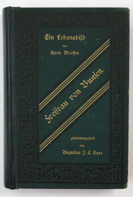 1883 Freifrau von Bunsen Lebensbild aus ihren Briefen Biographien Geschichte