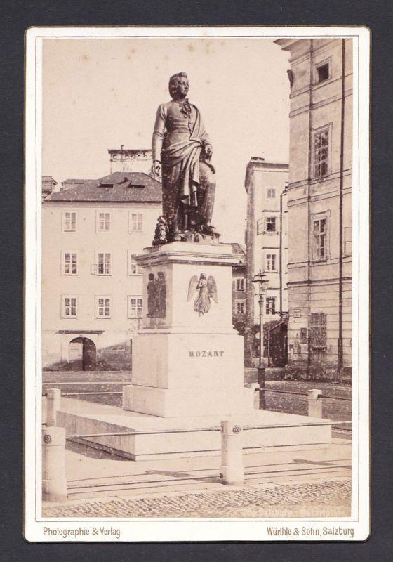 1890 Würthle & Sohn Salzburg Fotograf Foto Photo Photograph Ansicht
